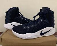 Nike Hyperdunk Navy 2016 Zoom TB Promo Basketball Shoe 856483-442 Size 15