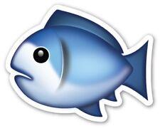 x2 Vinyl Stickers 100mm fish fishing sea ocean aquatic animal kids laptop cool