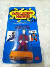 "Mego 1975 Comic Action Heroes 3-3/4"" The Joker Action Figure MOC"