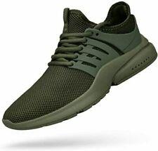Feetmat Men's Outdoors Running Shoes Lightweight Green 2 Pairs