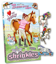 HORSE PONY PONIES SHRINKLES SHRINK ART BUMPER BOX CRAFT GIFT SET