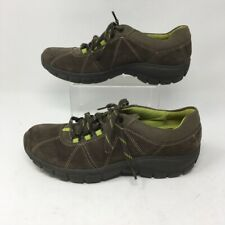 Clarks Womens In Motion Sneakers Shoes Brown 13291 Walking Low Top Suede 7 M