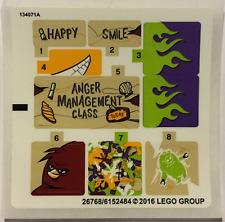 LEGO Sticker Set 75823 Angry Birds New!