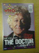 DOCTOR WHO #251 1997 MAY 7 BRITISH WEEKLY MONTHLY MAGAZINE DR WHO DALEK PERTWEE