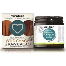 Viridian cacao orgánico salvaje Chaga & Raw 30g