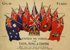 British Empire Board New Zealand Wool Advertisement Poster A3 A2  Reprint