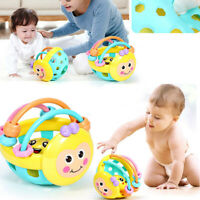 Cartoon Bee Ball Baby Rattle Toys Rattles Kids Soft Toddler Educational Toy