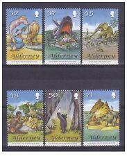 alderney aurigny 2007 rudyard kiling conte histoires animaux elephant 6v  mnh **