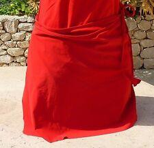 649a6670ed20 jupe de plage de RASUREL (dégriffé) rouge taille unique  NEUF