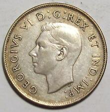 1943 CANADA HALF DOLLAR  50 cents  Nice Higher Grade CIRC     #6  A-14