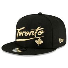 Toronto Raptors New Era Preto 2020/21 City Edição principal 9 Fifty Snapback Chapéu
