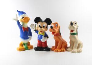 Donald Duck Micky Pluto === 4 x Walt Disney Figuren
