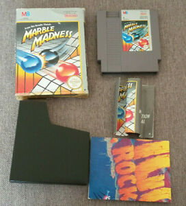 Nintendo NES Game Marble Madness Boxed