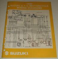 1990 SUZUKI WIRING DIAGRAM  MANUAL GSXR GSX DR VS GS VS 125 250 600 750 1100