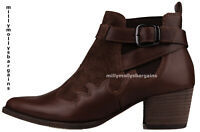 New Womens Brown Leather NEXT Signature Boots Size 5 RRP £68