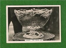 The DAVIS CUP original 1935 Photocard presented by Mr DW DAVIS of St Louis USA