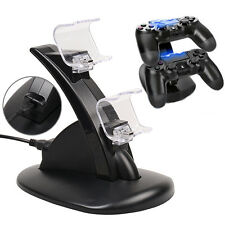 PlayStation 4 PS4 Dual Controller LED Charger Dock Station USB Charging Stand