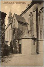 FRANKFURT Main ~1920 Strasse Sachsenhausen Deutsche Ordenskirche Sakristei