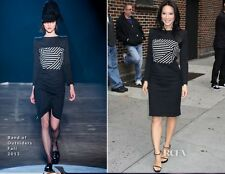BOY BY BAND OF OUTSIDERS Lucy Liu Striped Boatneck Dress Size 2