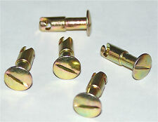 DZUS QUARTER TURN FASTENER AJ4-70 TURNLOCK STUD - FIVE PIECES - 18mm STUD LENGTH