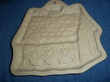 Brown Bag Cookie Mold Gingerbread House 1993