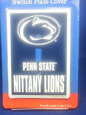 Light Switch single pole Penn State Nittanny Lions emblem embossed New plate