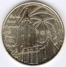 75006 PARIS ÉGLISE SAINT GERMAIN DES PRÉS 2013 MÉDAILLE JETON TOKEN MEDALS COINS