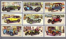 CIGARETTE/TRADE/CARDS.Kelloggs.VETERAN MOTOR CARS.(Full Set From 1962). (VG-EX).