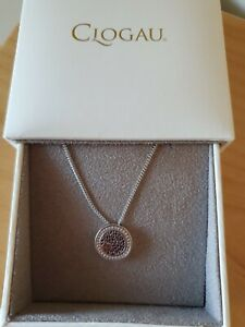 Beautiful Clogau Silver And Welsh Gold Neclace With Pendant