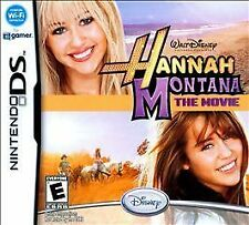 Hannah Montana The Movie (DS), Acceptable Nintendo DS, Nintendo DS Video Games