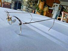 Vintage American Optical Eyeglasses RX Frames 1/10 12K GF Gold Filled w Case