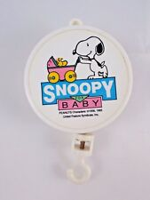 Peanuts Snoopy for Baby Musical Crib Mobile Lullaby Works Stuffed Animal