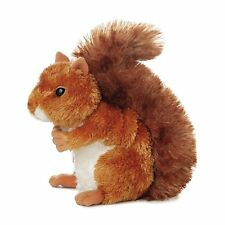 Aurora 30531 Stuffed Animal Mini Flopsies Cute And Cuddly Nutsie Brown Squirrel