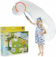 Giant Bubbles Kit 500ml Soapy Solution Kids Large Wand Bubble Maker Outdoor Fun