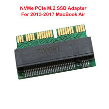 NVMe PCIe M.2 SSD Converter Adapter Card for MacBook Air 2013-2017 A1465 A1466