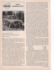1964 VOLVO 122-S ~ ORIGINAL 2-PAGE ARTICLE / AD