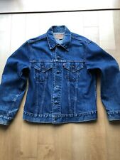 Vintage Mens 70s Levi's Denim Jean Jacket Sz 42 Trucker 70505-0217 524 Buttons