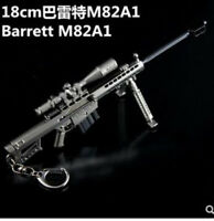 1/6 Scale M82A1 Plastic Barrett Sniper Rifle Model Weapon Gun Toys Fit 12'' Body