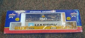 G SCALE USA Trains TTX Intermodal Container R17102 #427062 MAERSK P & O TRAILERS