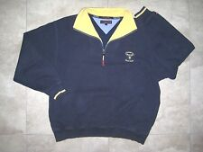 Vintage TOMMY HILFIGER Champions Golf Club Blue Pullover Sweater Houston USED