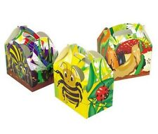 16 Araña Abeja Insectos Bichos N babosas Cajas ~ Picnic alimentos Fiesta De Cumpleaños Caja