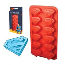 SUPERMAN LOGO - ICE CUBE TRAY NEW - DC COMICS Free Shipping!