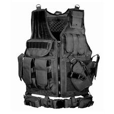 Combat Assault Carrier Vest Durable Tactical Military Vest Detachable Amphibious