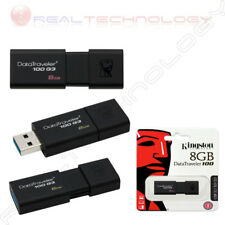 PENDRIVE MEMORIA Flash USB 3.1 3.0 2.0 8GB Kingston DT-100 DT100G3/8GB