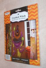 "Halloween Crashed Witch - Size 22"" x 60"" - Brand NEW, Sealed"