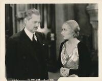 LIONEL BARRYMORE KAREN MORLEY Production Still Vintage ARSENE LUPIN MGM Photo