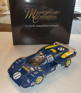 1:18 1971 FERRARI 512M #11 Sunoco GMP Masterpiece Collection Donohue Hobbs