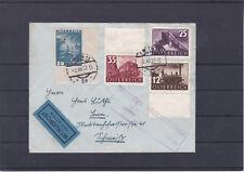 Flugpostbrief Satz gelaufen 2.12.1937 in die Schweiz