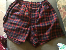 Nwt Structure Men's Boxer, Medium Vintage Mid90s. New with tags! Flannel Red