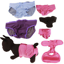 KE_ Reusable Dog Diapers Band Strap Soft Pants Underwear Pet Sanitary Nappy Tr